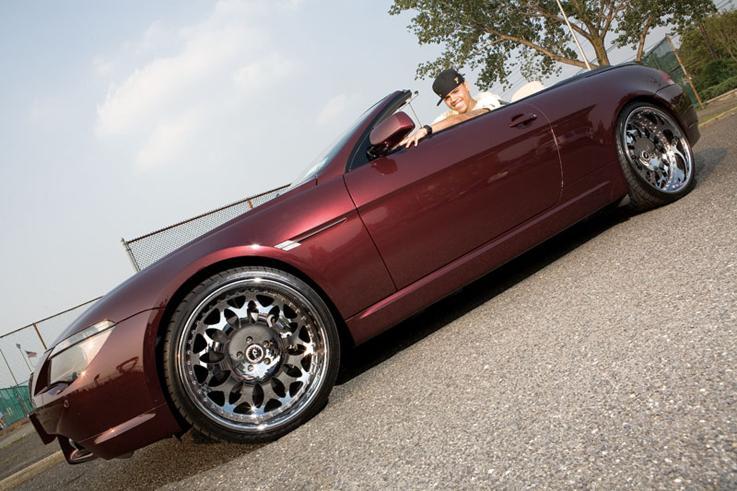 Chris Brown's Car - BMW 645