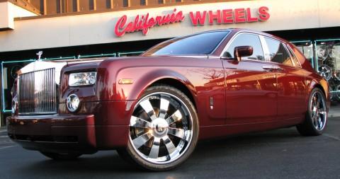 Stephen Jackson Rolls Royce Phantom