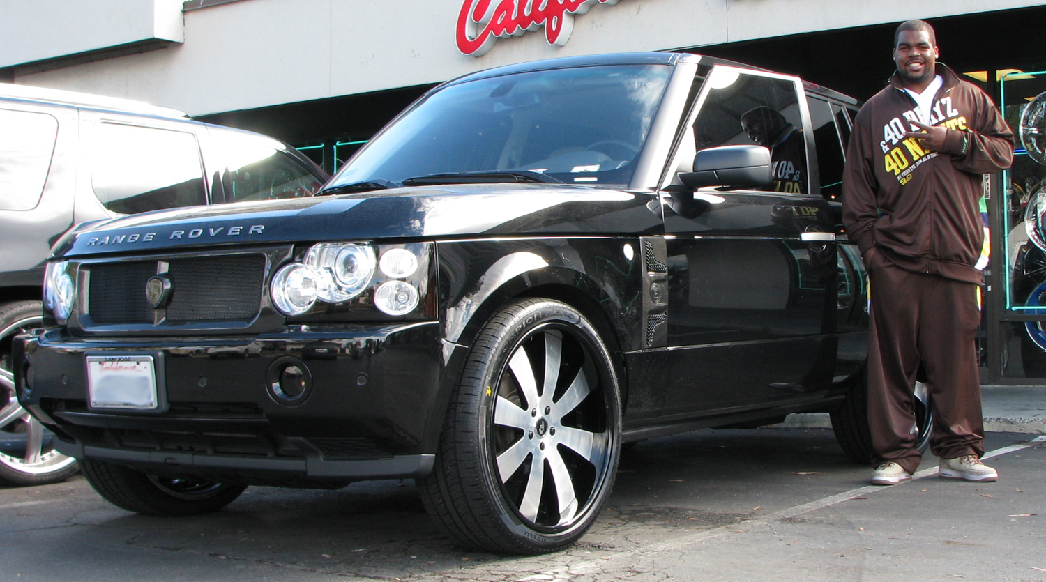 Chilo Rachal Of The 49ers And His Range Celebrity Carz