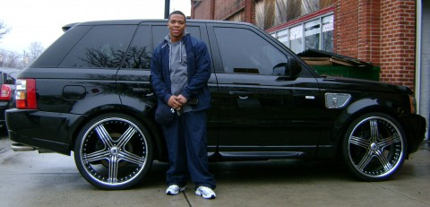 Ray Rice Car Range Rover Sport