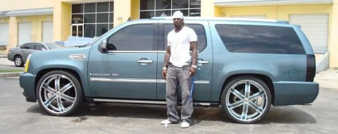 Chad Jackson Escalade Celebrity Car Cars