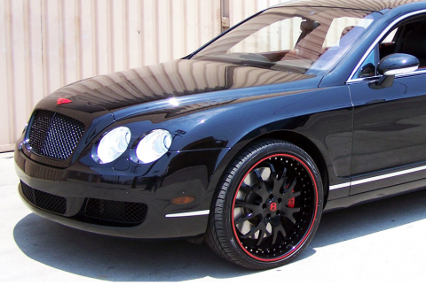The Game S Bentley Continental Gt Celebrity Carz