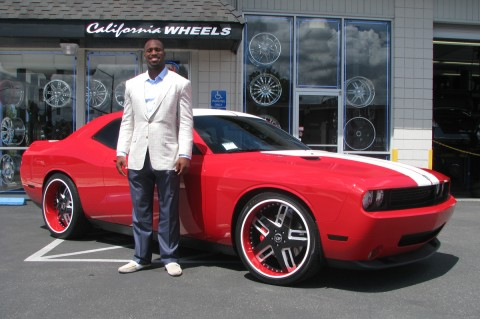 photo of Vernon Davis Ford Challenger - car